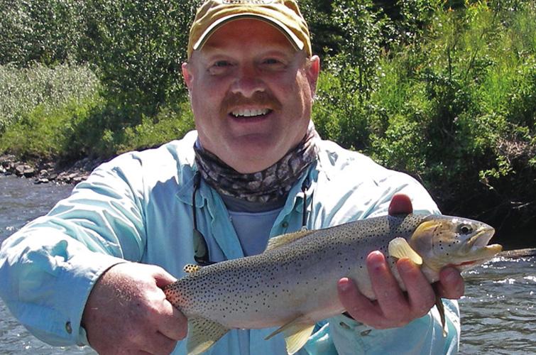 Al ritt hosted fly fishing trips fly tyerfly tyer for Trout fishing in alabama