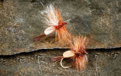 Learn to tie Regan's spinner at the link in our bio! #flytying #flytyingjunkie #dryfly #flytyermagazine
