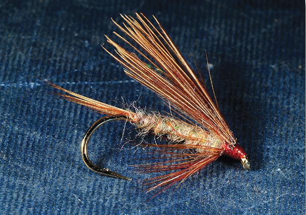 Blue Zulu code 646 Snake Flies Trout Flies Flappers x 3 UK Tied size 8